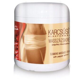 crema de masaj pentru subtiere si remodelare corporala cu extract de ardei iute lady stella