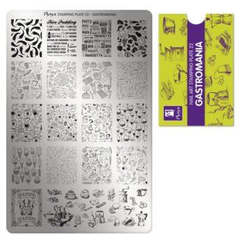 M3 01 00 00 0022 Stamping Plate 022 Gastromania 600x600 1