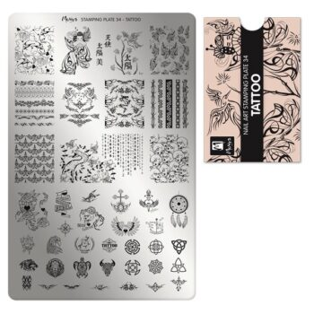 M3 01 00 00 0034 Stamping Plate 034 Tattoo 600x600 1
