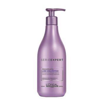 sampon pentru par cret l oreal professionnel liss unlimited shampoo 500ml